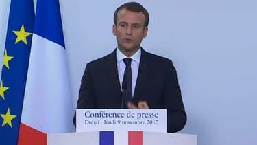 Emmanuel Macron a annoncé une salve de contrats