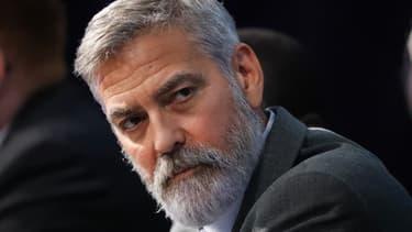 L'acteur américain George Clooney