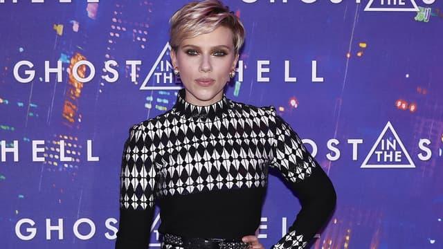 Scarlett Johansson le 21 mars 2017