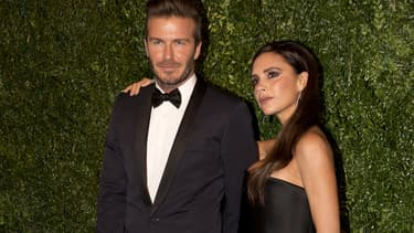Le couple Beckham en novembre 2014