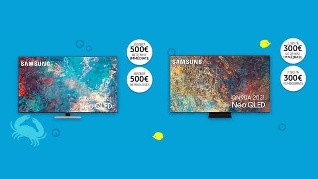 Samsung : 3 offres TV (Smart TV, TV 4K...) à ne pas manquer à l'occasion des soldes d'été