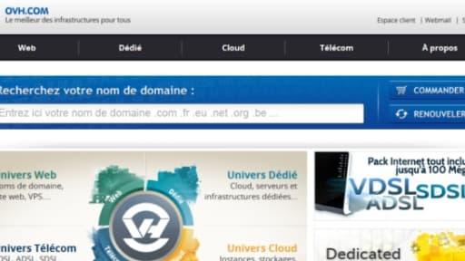 """OVH, pour """"on vous héberge"""", est un spécialiste du cloud qui fabrique lui-même ses serveurs."""