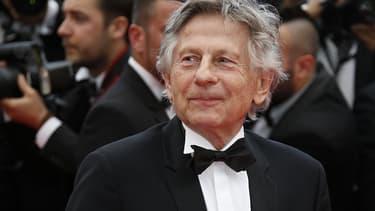 Roman Polanski à Cannes le 17 mai 2014