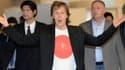 Paul McCartney était en pleine forme, lorsqu'il est arrivé au Japon le 15 mai dernier.