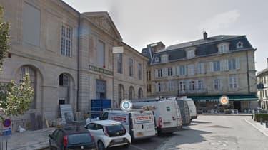 Le palais de justice de Vesoul.
