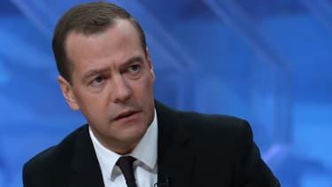 Dimitri Medvedev, le 9 décembre 2015.
