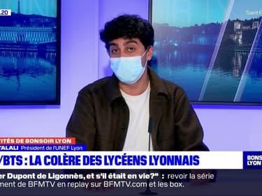 Pour le président de l'UNEF Lyon, les étudiants en distanciel et présentiel n'ont pas eu le même enseignement