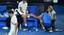 Chung soigné pour une ampoule lors de la demi-finale de l'Open d'Australie 2018 face à Federer