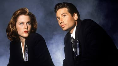 Les agents Scully et Mulder ont débarqué sur les écrans en 1993 aux Etats-Unis et 1994 en France. - Fox TV