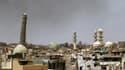Le minaret de la mosquée al-Nouri était emblématique de la ville de Mossoul.