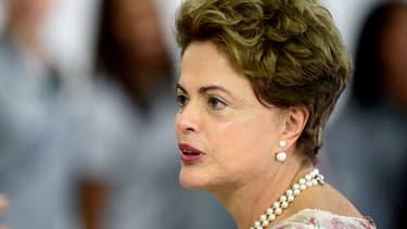 La présidente brésilienne Dilma Rousseff fait l'objet d'une forte contestation au sein du pays.