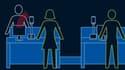 À l'aéroport d'Atlanta, les passagers de Delta Airlines n'auront plus besoin de billet pour embarquer.