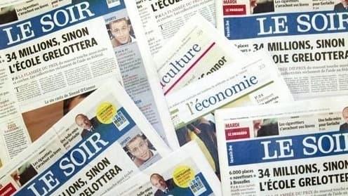 Rossel possède déjà des journaux comme le quotidien belge Le Soir
