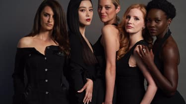 "Penélope Cruz, Fan Bingbing, Marion Cotillard, Jessica Chastain et Lupita Nyong'o, les stars de ""355"""