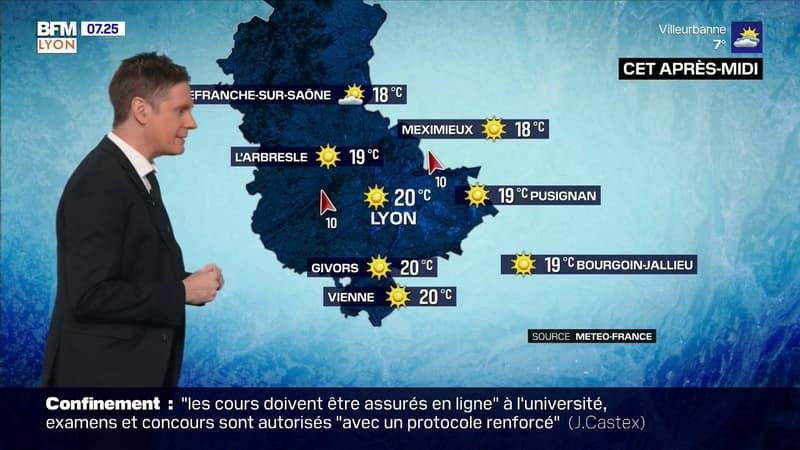 Météo: le brouillard ce samedi matin laisse ensuite place au soleil, jusqu'à 20°C à Lyon