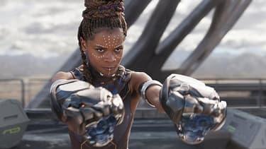 Letitia Wright, dans le rôle de Shuri, la jeune soeur de Black Panther. Le personnage va avoir droit à son propre comic book.