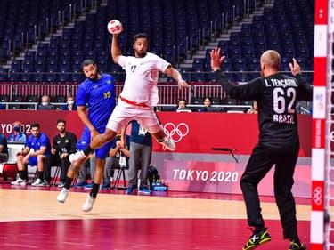 Jeux olympiques: France-Brésil en handball