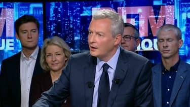 Bruno Le Maire, candidat à la primaire de la droite