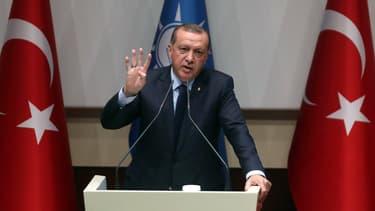 Recep Tayyip Erdogan, le 2 mai 2017.