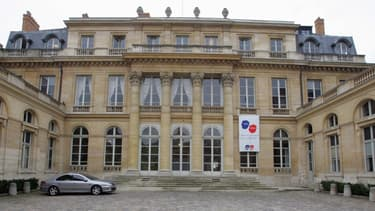Le ministère du Travail, rue de Grenelle à Paris.