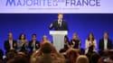 François Baroin, chef de file de LR pour les législatives, anime un meeting, le 20 mai 2017, à Paris.