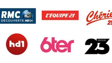 6ter, HD1, L'Equipe 21, Numéro 23, RMC Découverte, Chérie 25 font leur apparition sur la TNT ce mercredi 12 décembre.