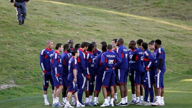 Les Bleus ont boycotté un entraînement pour marquer leur mécontentement face au renvoi de Nicolas Anelka