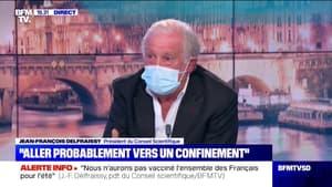 """Jean-François Delfraissy: """"On ne sortira de ce virus qu'en changeant nos logiciels"""""""