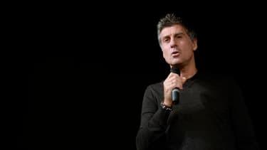"""Marc Simoncini affirme à ses collègues entrepreneurs que si """"nous ne sauvons pas notre nation, vous aurez vous aussi bientôt tout perdu""""."""