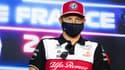 Kimi Raikkonen, au circuit Paul-Ricard du Castellet le 17 juin 2021