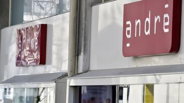 Les 150 points de vente André sont fermés depuis le confinement
