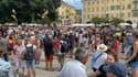Les manifestants à Nice.