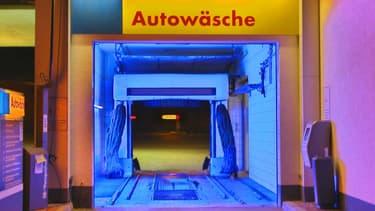 Un exemple de station de lavage automatique en Allemagne.