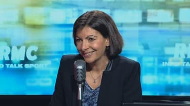 Anne Hidalgo candidate PS à la mairie de Paris