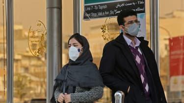 Iraniens à Téhéran, le 24 février