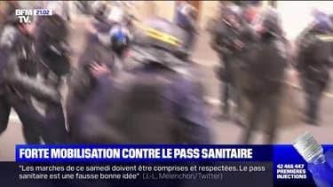 Manifestations contre le pass sanitaire: 200.000 personnes ont défilé en France