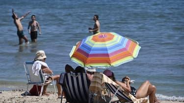 Des vacanciers à Palavas-les-Flots le 23 juin 2020.
