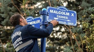 La rue Malcolm X.