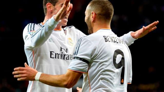 Gareth Bale et Karim Benzema