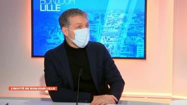 Stéphane Baly, ex-candidat écologiste à la mairie de Lille.
