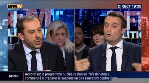 """Florian Philippot face à Carlos Da Silva: """"Je ne veux pas de la Turquie dans l'Union européenne, ça serait une folie !"""""""