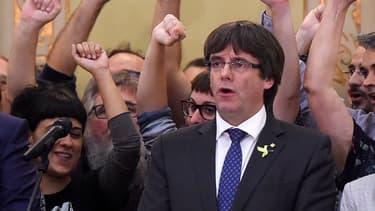 Carles Puigdemont, président séparatiste