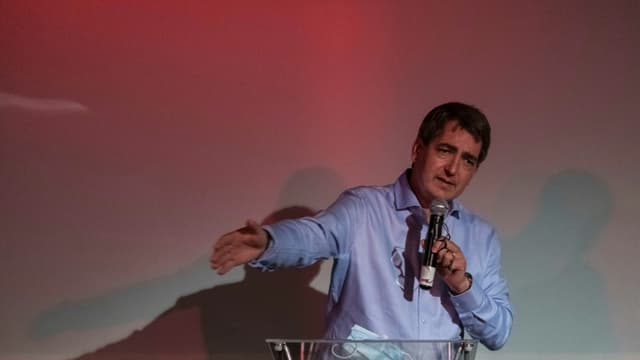 Le président de la région Grand Est Jean Rottner le 28 juin 2020 à Mulhouse (photo d'illustration)