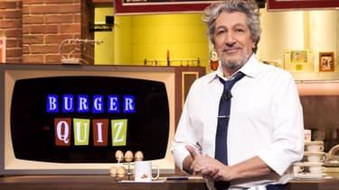 """Alain Chabat dans le """"Burger Quiz"""" sur TF1."""