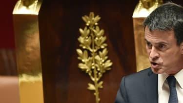 Le Premier ministre à l'Assemblée nationale le 10 mai 2016