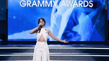 Camila Cabello aux Grammy Awards en 2018
