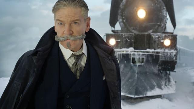 Kenneth Branagh dans Le Crime de l'Orient-Express