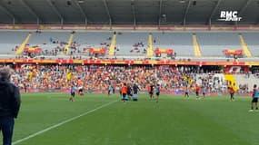 Lens : Trois mille fans à l'entraînement avant le derby contre Lille