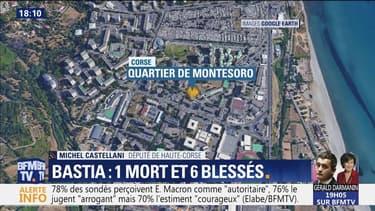 Fusillade à Bastia: 1 mort et 6 blessés