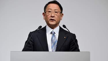 Akio Toyoda, le PDG de Toyota